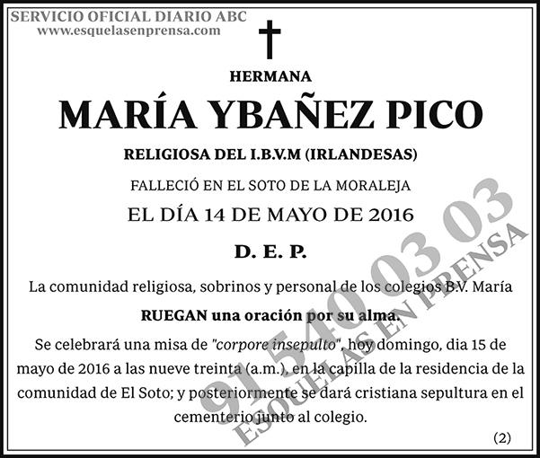 María Ybañez Pico